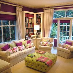 Like the colors! Spaces Living Room Colour Schemes Design, Pictures, Remodel, Decor and Ideas - page 3