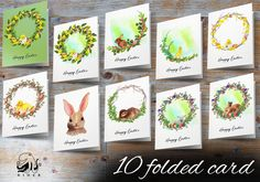Easter greeting card BUNDLE multilanguage postcard holiday   Etsy Birthday Party Decorations, Tree Decorations, Birthday Parties, Wedding Fingerprint Tree, Gift Drawing, Easter Greeting Cards, Sheep, Language, Graphic Design