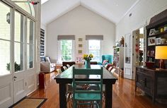 My Houzz: Eclectic Style and Color Rule Here - eclectic - dining room - adelaide - by Luci.D Interiors