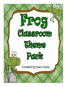 """You will """"toad-ally"""" love the resources in this unit If you are looking for a frog theme  to decorate your classroom.  Your students will enjoy receiving """"ribbit"""" rewards for good behavior along with being """"hoppy"""" helpers.  Just print, laminate, cut and you are ready to leap into a new school year!"""