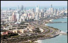 Arabian gulf street in kuwait