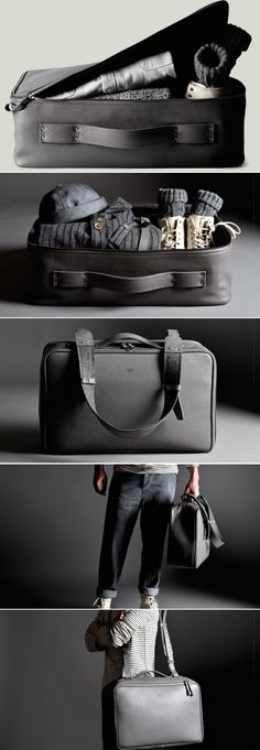 #hardgraft Carry On Suitcase / Neutral