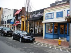 Walking on Main Street Westport. Beautiful town with high end shops and eateries. Great for a day trip of holiday shopping and combine it with a beach day at Compo Beach.