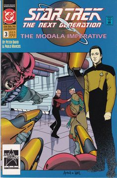 Star Trek The Next Generation The Modala Imperative #3 1991 DC Comics