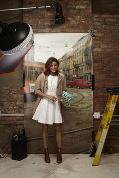 Olivia Palermo for new Tibi campaign