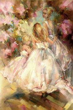 Images of anna razumovskaya art | Anna Razumovskaya Paintings - Anna Razumovskaya Spring Blossom ...