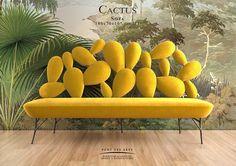 Cactus Sofa - Designer MONZER Hammoud - Pont des Arts studio - Paris