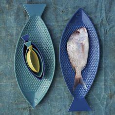Fish-Shaped Serveware   west elm