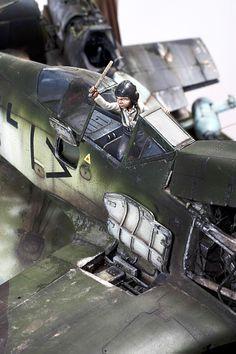 Junkyard 1/32 Scale Model Diorama
