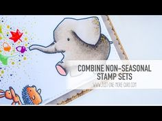 Using Purple Onion Designs stamps and Lawn Fawn dies for a bright and clean fall card. Expand for more information and for a full supply list of the products...