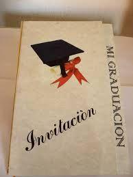 Resultado de imagen para invitaciones de graduación