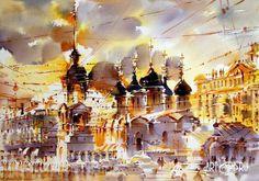 Olga Litvinenko watercolor - Αναζήτηση Google