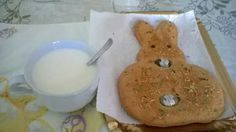 "Good breakfast with ""i paprijugh"" a typical Easter sweet http://www.polignanomadeinlove.com #polignanomadeinlove #vieniamangiareinpuglia #sweet"