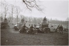 Exercise squadron armored vehicles, 1939-1940