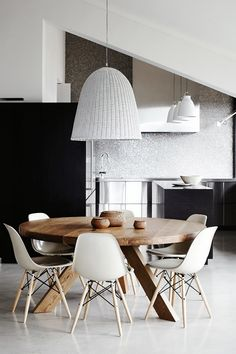 Why I Will Never Ditch My Eames Chairs, Even If Theyu0027re Basic. Kitchen  DiningDining AreaDining Room TableModern ...