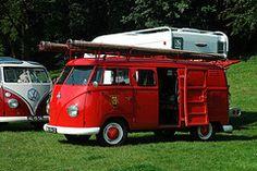 Fire Truck VW Bus