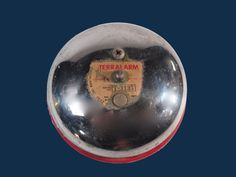 Vintage Fire Alarm Terralarm Large Bell