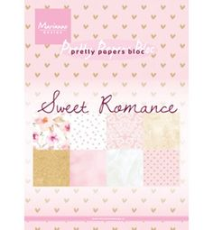 Scrapbook, Marianne Design, Material, Romance, Etsy Shop, Paper, Sweet, Pretty, Craft Gifts