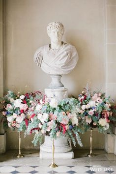 WedLuxe – A Dream-Like French Château Wedding | Photography By: Greg Finck Follow @WedLuxe for more wedding inspiration!