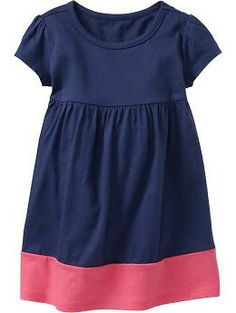Color-Block Jersey Dresses for Baby   Old Navy