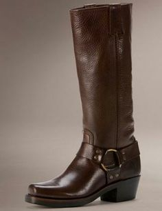 Frye Harness Boots #shoes