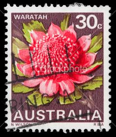 Old postage stamp from Australia.