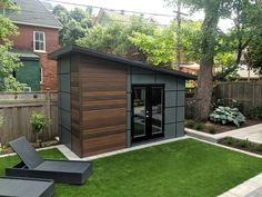 Artisan Shed Gallery - Summit Sheds, Ottawa custom shed builder Modern Gazebo, Modern Shed, Backyard Office, Backyard Studio, Backyard Storage, Backyard Sheds, Diy Shed Plans, Shed Design Plans, Modern Landscape Design