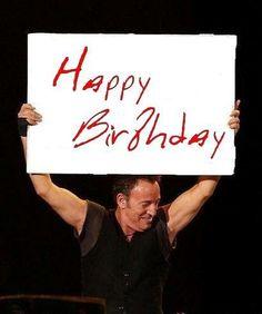 Happy birthday to Bruce!!!!!!!! 65 today 23/09/2014