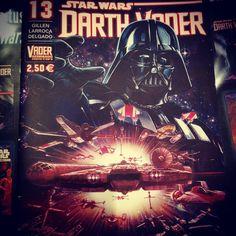 Muy buena la portada de Star Wars Darth Vader #13 de Larroca y Delgado #starwars #darthvader #halconmilenario #comic #lucasarts