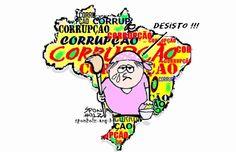 Brasil país de Corrupção