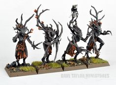 Autumn dryads by Dave Taylor Warhammer Wood Elves, Warhammer Fantasy, Fall Color Schemes, Tree People, Wood Elf, Warhammer Models, Character Modeling, Cool Paintings, Larp