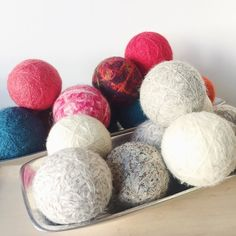 Other amazing things from @puregracesoap: WOOL DRYER BALLS are here! For colors and neutrals - they are an eco-friendly and chemical free way to eliminate static in clothes while cutting down on electricity used for drying.  The wool helps absorb excess water in the clothes drying them faster.  No more fabric softeners or dryer sheets! You can also add a few drops of your favorite essential oil to scent your laundry!