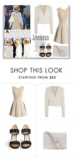 """Sans titre #139"" by zoey-heart ❤ liked on Polyvore featuring Chicwish, Chloé and Jimmy Choo"