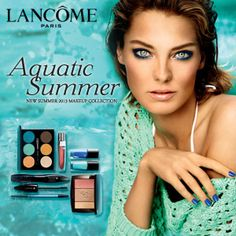 Introducing Aquatic Summer: The New 2013 Summer Collection from Lancome
