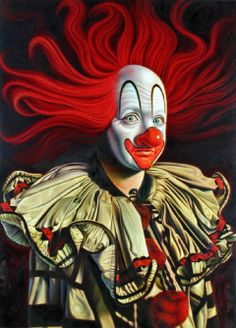Clown Ron English