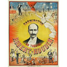 """Robert Houdin Theatre Poster (18"""""""" by 24"""""""") by Bazar de Magia - Trick"""
