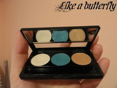 Like a butterfly: Review - NYX Antidiva eyeshadow