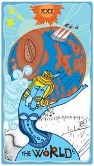 The World - Sakki-Sakki Tarot