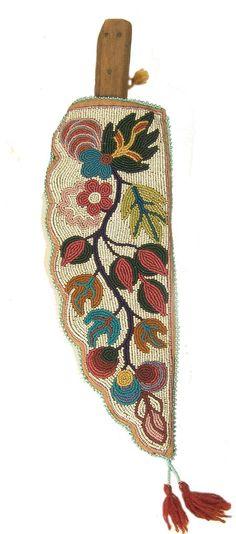 Chippewa beaded kniffe
