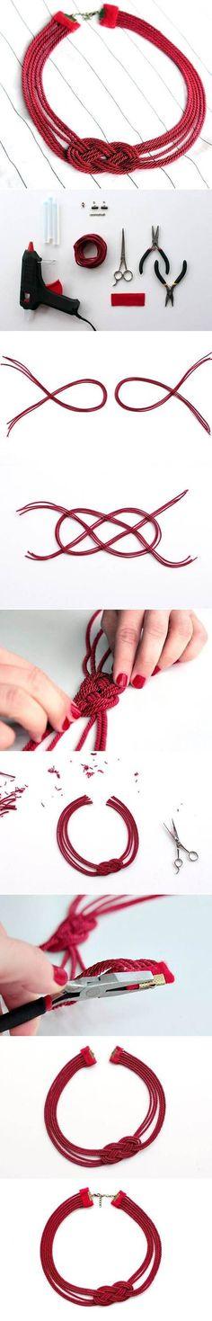 Facile Bracciale Rosso | Migliori idee fai da te