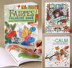 Adult Coloring Books @ Harriet Carter