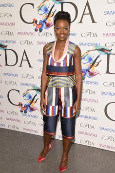 Lupita Nyong'o Photos: CFDA Fashion Awards' Winners Walk