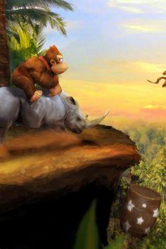 Donkey Kong... ... ... I'm never gonna grow up, am I? ;-)