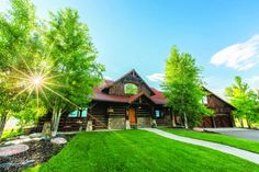 Decadent Design Blending Family with Flair Old World, Homesteading, Montana, Cabin, House Styles, Design, Cabins, Cottage, Design Comics