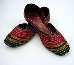 Tradition Kussa shoes from Pakistan