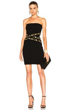 Shop for Alexandre Vauthier Strapless Waist Detail Dress in Black at FWRD. Free 2 day shipping and returns.