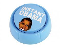 Talking Obama Humor Button