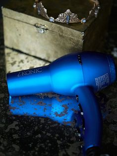iKONIC's Ionic Boost hair dryer available on Free People's website! limited time only. Hair dryer available in electric blue or matte black Hair Ribbons, Beauty Photos, Hair Accessories For Women, Styling Tools, Electric Blue, Hair Dryer, You Nailed It, Hair Clips, Hair Care