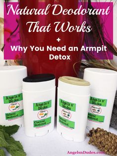 Have you tried natural deodorant that didn't work? If you've tried several brands and they have either been tolerable or absolutely terrible or they burned your armpits, there's one natural deodorant that works like a charm. Homemade Natural Deodorant, Natural Deodorant That Works, Easy Detox Cleanse, Detox Kit, Detox Your Armpits, Charcoal Deodorant, Armpit Whitening, Deodorant Recipes, Essential Oil Scents