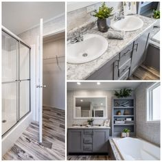 Mobile Homes, Master Bathroom, New Homes, Bathtub, 3d, Detail, Camper Shells, Standing Bath, Master Bath